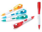 LEDライト&ボールペン ブルー