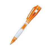 LEDライト&ボールペン オレンジ