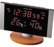 LED温湿度電波クロック
