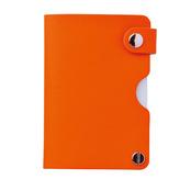 セルトナ・リサイクルレザーカードケース(オレンジ)