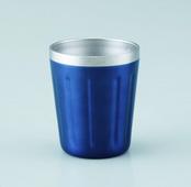 真空ステンレスコンビニまるごとカップ(ブルー)