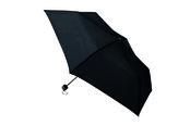 一振りで雨水が切れやすい折り畳み傘 ブラック