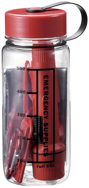 防災対策ボトル5点セット 1