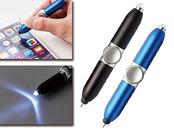 LED付スピナータッチ&ボールペン