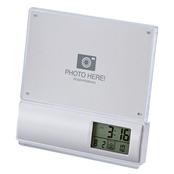 シンプルスタイル電波時計(黒)